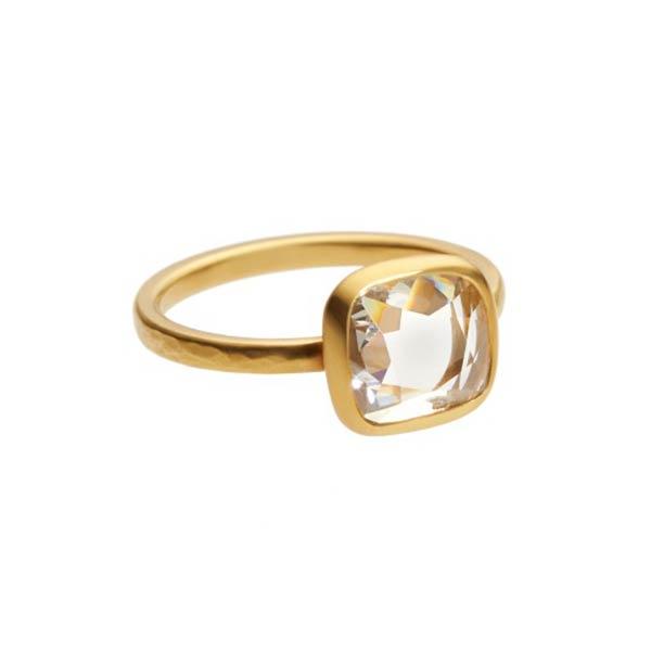 Square cut parab diamond weighing 1.30 carats set in 22 carat gold